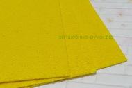 Фоамиран махровый 2 мм арт.MG.TOW.N027 цв.желтый,   20*30 cм, шт