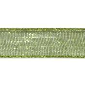 Лента капроновая 0,6см JF-001 (076 зеленый), 1 м