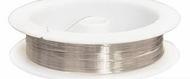 Проволока на катушке 09Е04 0,3мм *10м, (серебро)