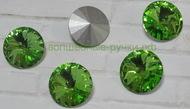 Риволи 14 мм светло-зеленый