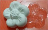 Пластиковая форма для мыла 171 - Цветочек