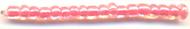 Бисер Астра  11/0, 20г (2204яр.персик/прозр.с.цв.центр(глянц)