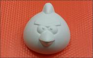 Пластиковая форма для мыла 232 - Злая птичка