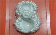 Пластиковая форма для мыла 242 - 8 Марта цветы