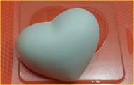Пластиковая форма для мыла 268 - Сердечко