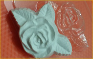 Пластиковая форма для мыла 284 - Розочка