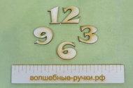 Набор цифр для часов 2.5см (4 цифры) Sn