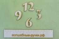 Набор цифр для часов 3см (4 цифры) M