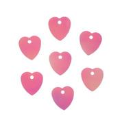"Пайетки ""сердечки"" 10х10мм, ""Астра"" 10г (30 розовый голограмма)"