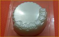 Пластиковая форма для мыла 313 - Мамочке
