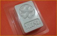 Пластиковая форма для мыла 322 - Большая УДАЧА