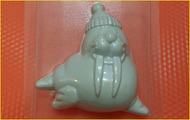 Пластиковая форма для мыла 353 - Морж