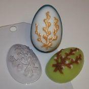 Пластиковая форма для мыла Яйцо/Верба