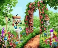 Картина по номерам Летнее цветение 40*50 см gx4133