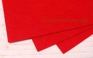 Фетр листовой жесткий  1мм 20х30см арт.FLT-H1 светло-красный цв.601