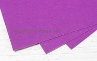 Фетр листовой жесткий  1мм 20х30см арт.FLT-H1 фиолетовый цв.619
