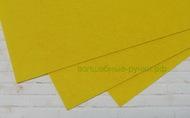 Фетр листовой жесткий  1мм 20х30см арт.FLT-H1 лимонный цв.643