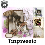 Декупажная карта Impressio  6919