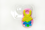 Пластиковая форма для мыла 8 марта лаванда