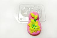 Пластиковая форма для мыла 8 марта лилия
