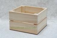 Ящик дерево с промежутками 135х120х90 мм