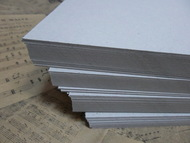 Картон переплетный 1,2 мм 25х35 см