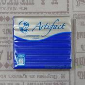 """173 Полимерная глина """"Артефакт"""" брус 56 гр.  классический Фиолетовый"""