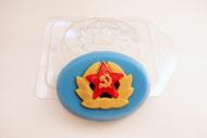 Пластиковая форма для мыла Кокарда