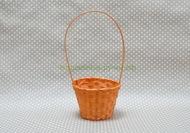 Корзина бамбук 13*9,5*28см оранжевый