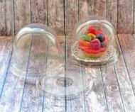 Коробка пластиковая Купол, 11*8,2 см прозрачное дно