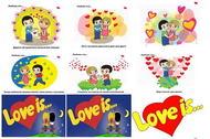 Картинки водорастворимые Love is... 171