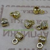 Бейл Трубка 9х5х7мм, Античное Золото