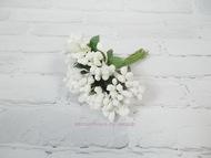 Сахарные тычинки, цвет белый, пучок 12 веточек, диаметр веточки 2 см