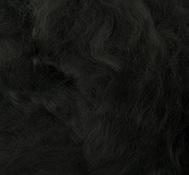 Шерсть для валяния 100% вискоза, 50гр. (0140 черный)