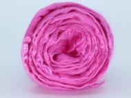 """Шерсть для валяния ТРО """"Гребенная лента"""" (вискоза) 50г цв.0168 розовый"""