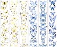 """Набор полос с картинками для декорирования """"Бабочки 3"""""""