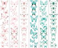 """Набор полос с картинками для декорирования """"Бабочки 4"""""""