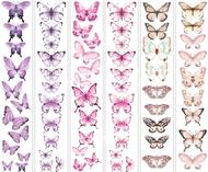 """Набор полос с картинками для декорирования """"Бабочки 5"""""""