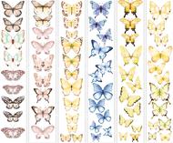 """Набор полос с картинками для декорирования """"Бабочки 1"""""""