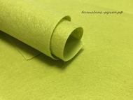 Фетр, цвет зелёный оливковый, 20х30 см, 1 мм