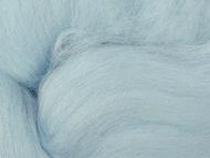 """Шерсть для валяния ТРО """"Гребенная лента"""" (100% австралийский меринос) 18мкм 50г 0363 талая вода"""