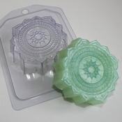 Пластиковая форма для мыла Восточный узор