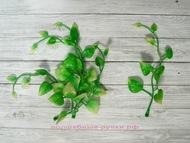 Зелень для декора (витая веточка), цвет салатовый длина веточки 13 см, 5 шт