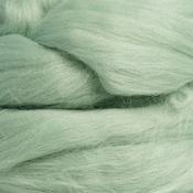 Шерсть для валяния мериносовая тонкая 100%, 100 гр. (0449 полынь)