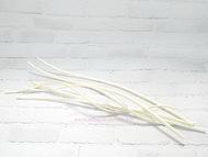 Ствол для декорирования витой, цвет белый, длина 35 см (диаметр примерно 0,5 см)