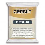 """CE0870056 Пластика полимерная запекаемая """"Cernit METALLIC"""" 56 гр. (053 темное золото)"""