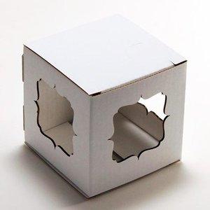 Коробка Кубик 70/Фигурные окошки МГК