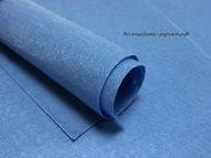 Фетр, цвет сине-серый, 20х30 см, 1 мм