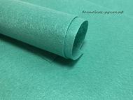 Фетр, цвет изумрудный, 20х30 см, 1 мм
