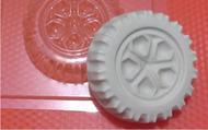 Пластиковая форма для мыла 093 - Колесо
